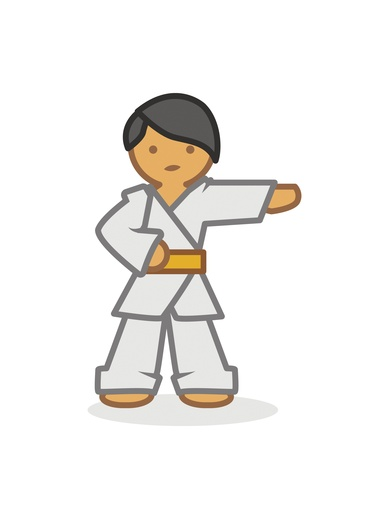 Judoka right