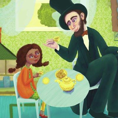 Tea with Abe