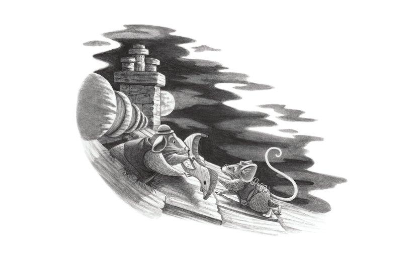 - book, chimney, cuckoo, dock, fairytale, full, hickory