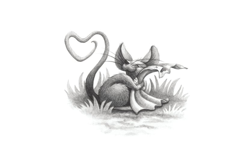 - animal, heart, letter, love, mouse, valentine