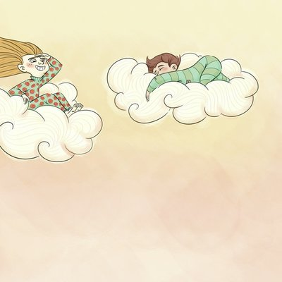 Floating to bed
