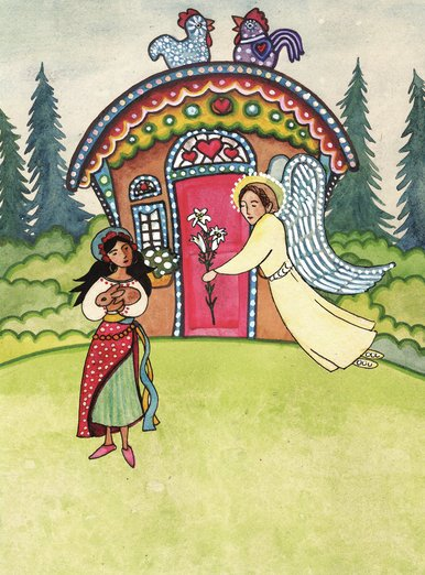 Nativity: The Angel