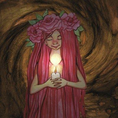 Rose Pixie at Night