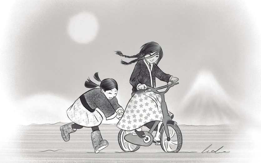 - adorable, bicycle, bike, black, boots, cartoon, cartoony