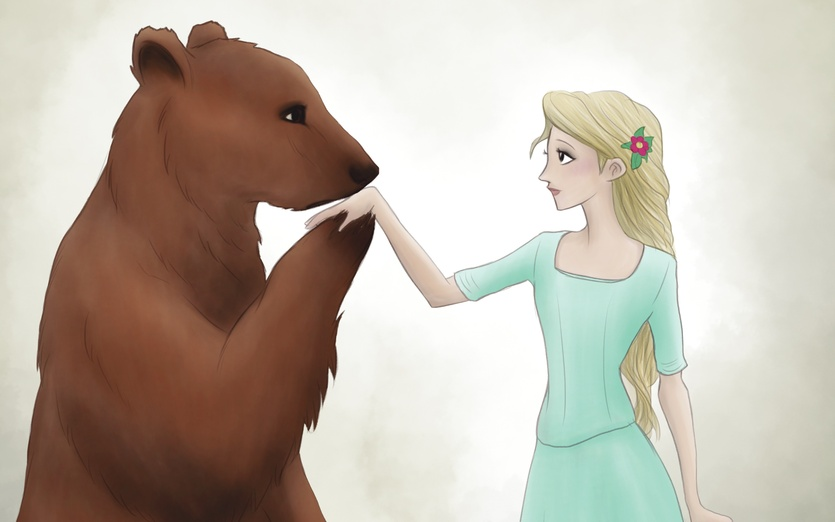 Inspired in George R.R. Martin books - adorable, animal, art, bear, beautiful, blue, book