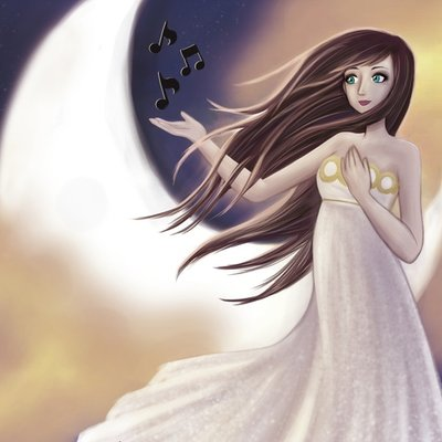 The Lady, the Music and the Moon