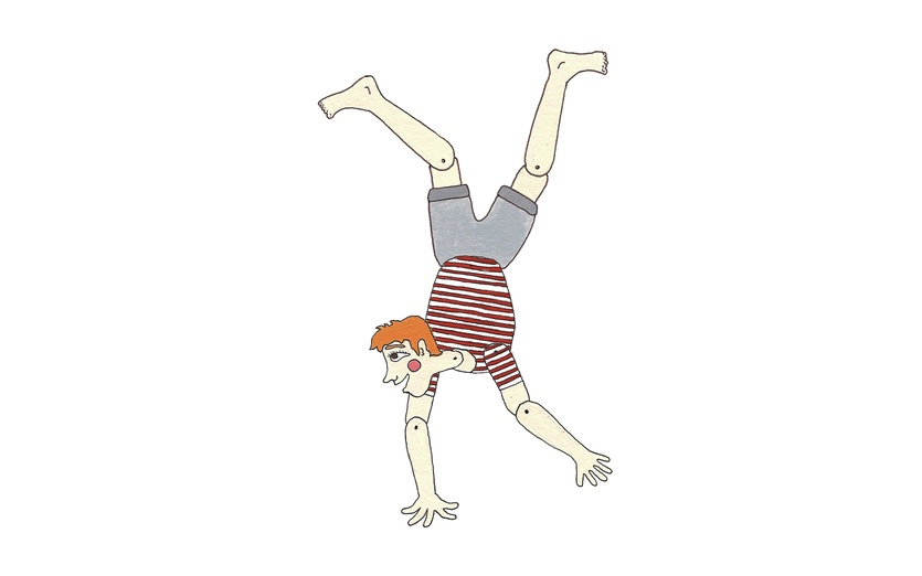- acrobatic, adorable, boy, cartoon, cartoony, character, colored
