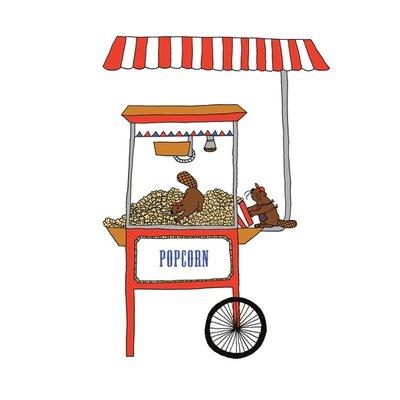 The beavers' popcorn
