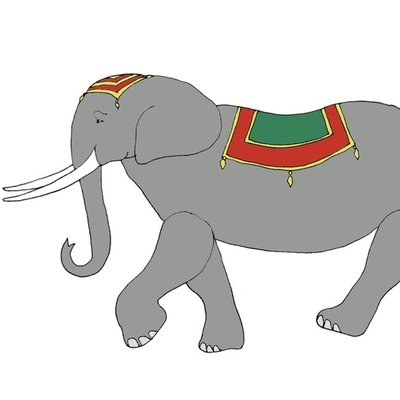 The circus elephant