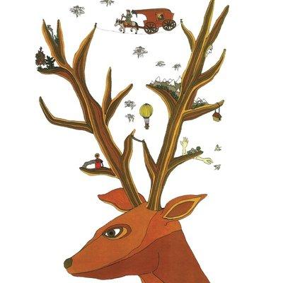 The magic deer