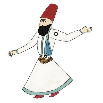 The whirling dervish