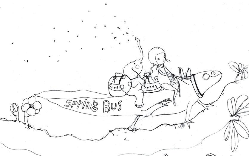 - adorable, animals, axolotl, black, blowing, branch, bus