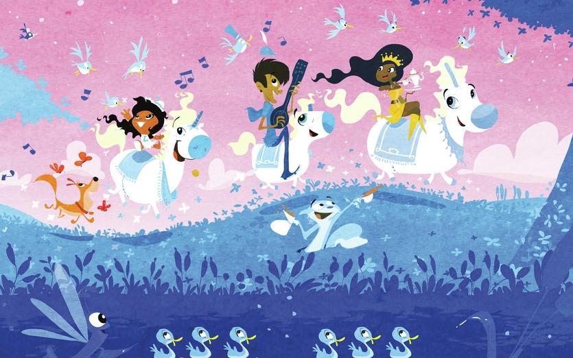 - adorable, animal, animals, blue, brightcolored, brightcolors, cartoon
