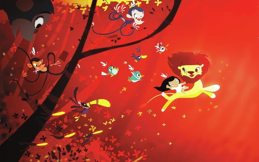 - adorable, animals, brightcolored, brightcolors, brown, cartoon, cartoony