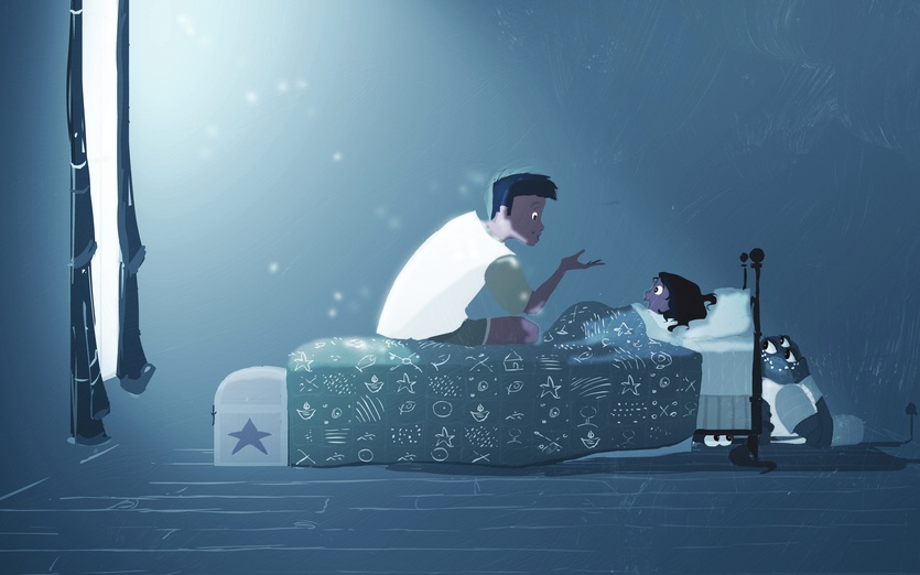 bedtime story by pascal campion on storybird. Black Bedroom Furniture Sets. Home Design Ideas