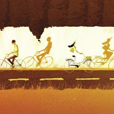 just cycling along
