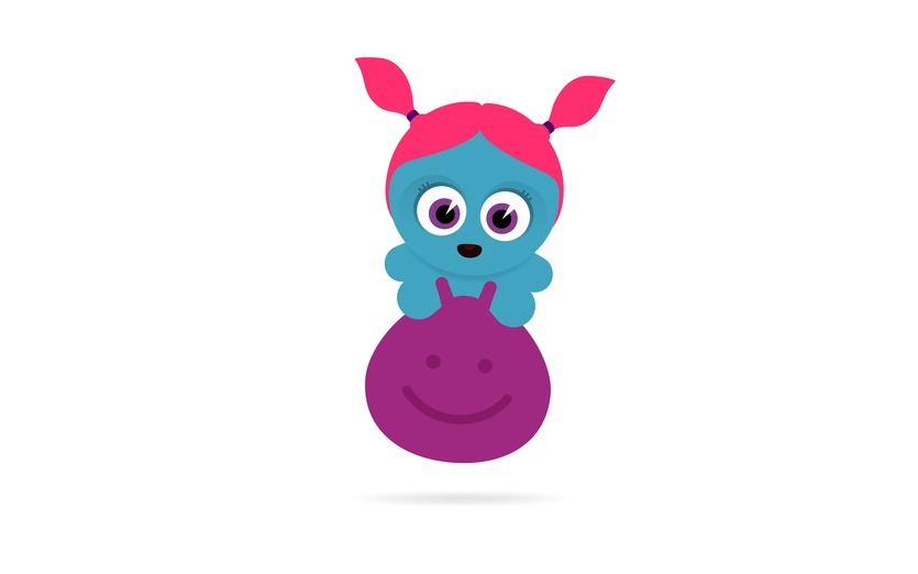 - bigeyes, blue, bounce, character, cute, excited, fun