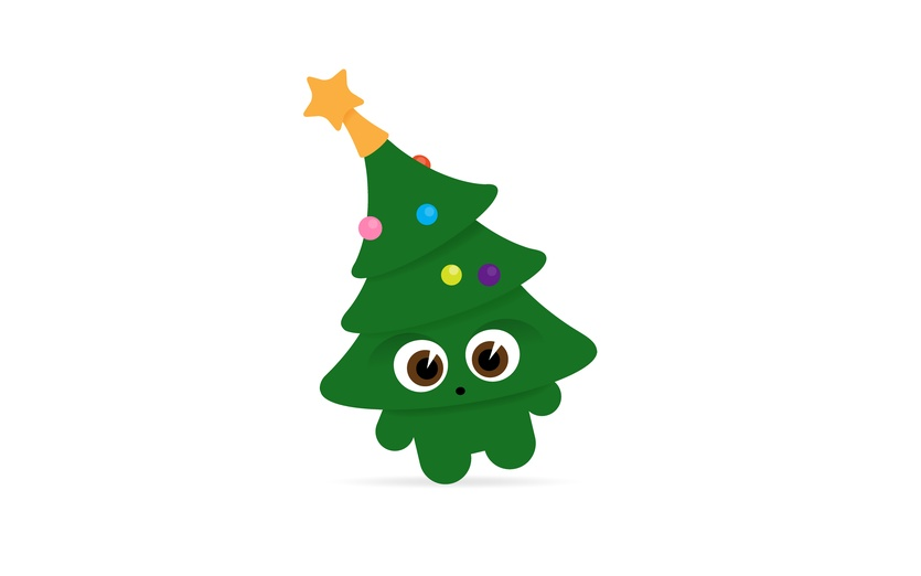 Christmas Trees Decorated Images