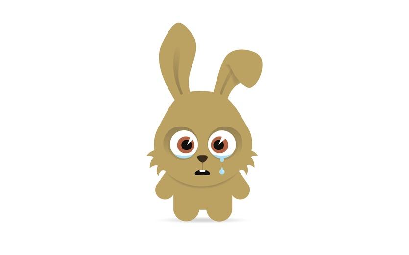 - adorable, angry, animal, art, bitter, brown, bunny