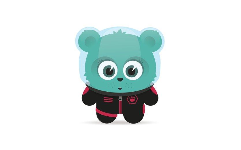 - aliens, animal, astronaut, bear, cub, cute, exploration