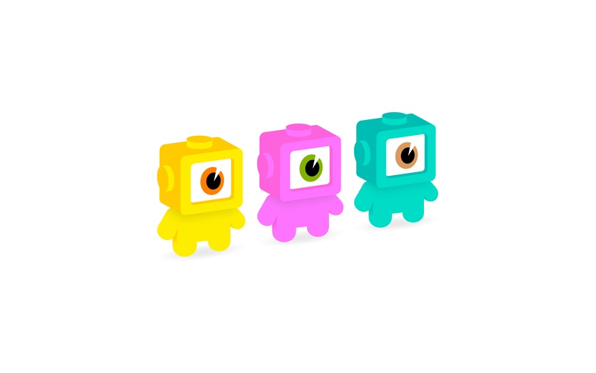 - art, bigeyes, blocks, blue, brother, brothers, characters