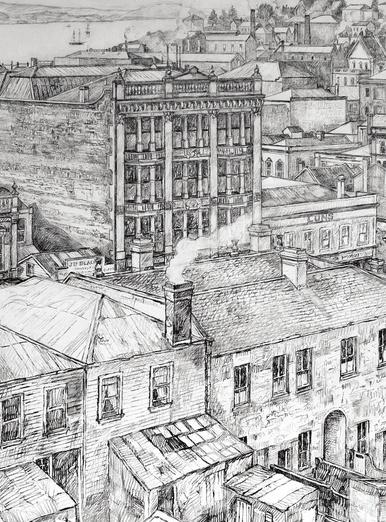 Auckland CBD - 1880s