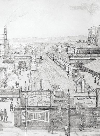 Auckland Railway Station 1902