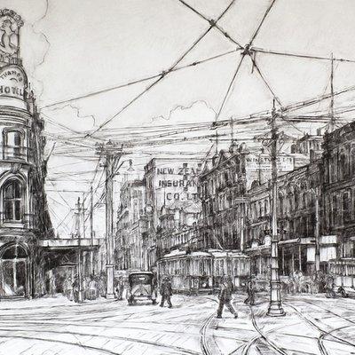 Historic Auckland - 1924