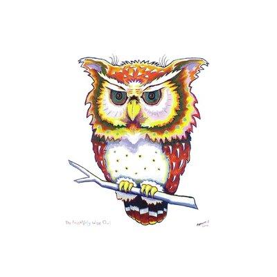 The Frightfully Wise Owl