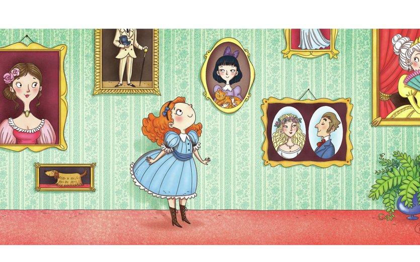 - colour, girl, interior, ladies, portraits, victorian
