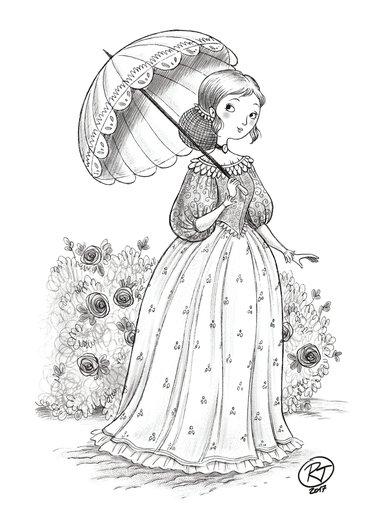 - girl, little, march, meg, novel, rose, victorian