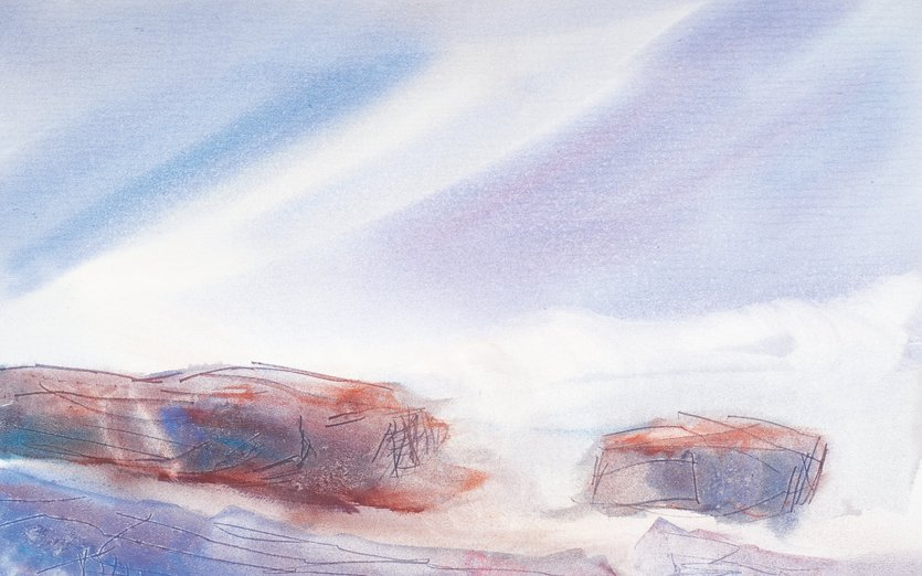- blue, lake, north, rocks, superior