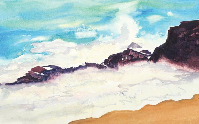 - lake, mn, north, rocks, superior, surf, waves