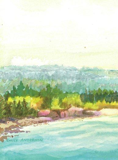 Lake Superior Summer