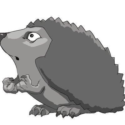 Hedgehog - Surprised