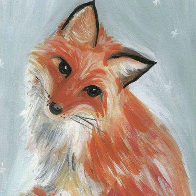 Winter Animals-Fox