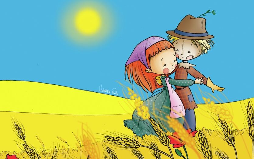 - adorable, apron, blue, boy, brown, cartoon, cartoony