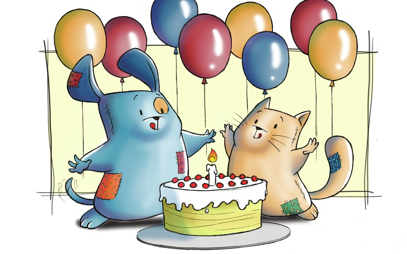 My Little Patchworld Happy Birthday By Valentina Rota On Storybird