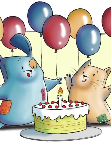 My little PatchWorld - happy birthday!