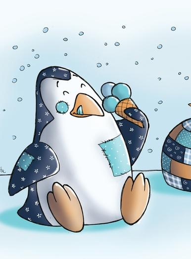 My little PatchWorld - penguin