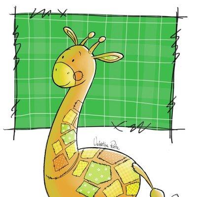 My little PatchWorld - giraffe