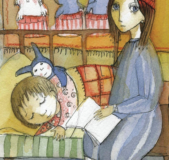 - adorable, asleep, bed, bedroom, blue, book, calm