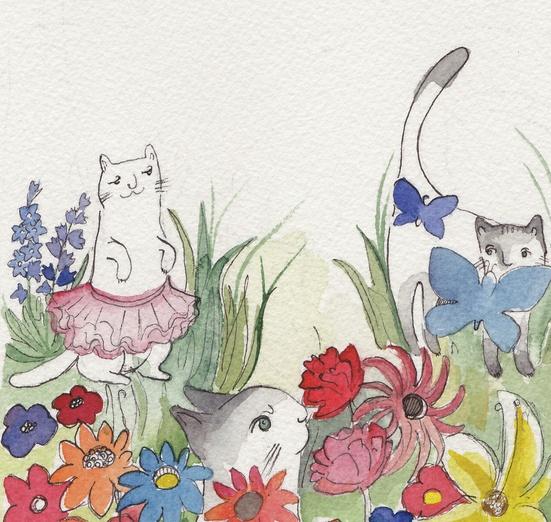 - adorable, adorbs, art, blue, cartoon, cartoony, cat