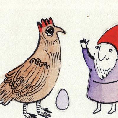 An Egg!