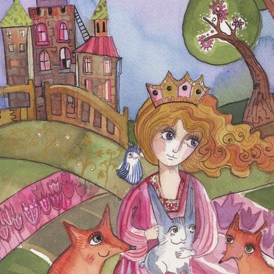 Princess who loved animals
