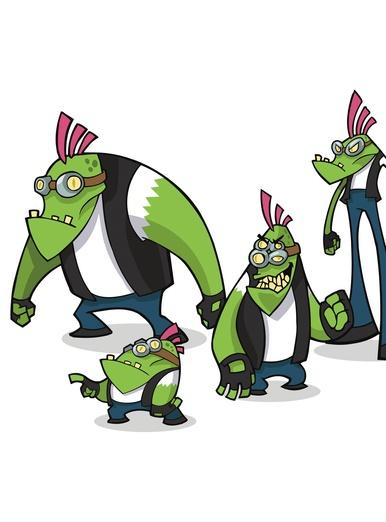 Alien Biker Gang