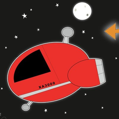 Red Spaceship