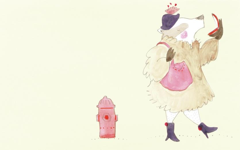 - adorable, badger, beige, cartoon, cartoony, character, coat