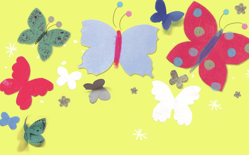 - adorable, adorbs, blue, bright, bugs, butterflies, cheerful