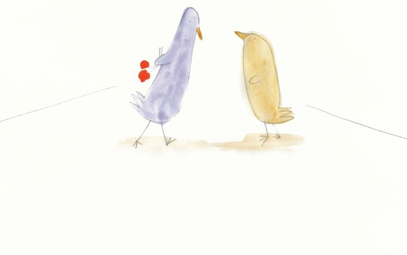 - adorable, birds, cartoon, cartoony, characters, colored, colorful